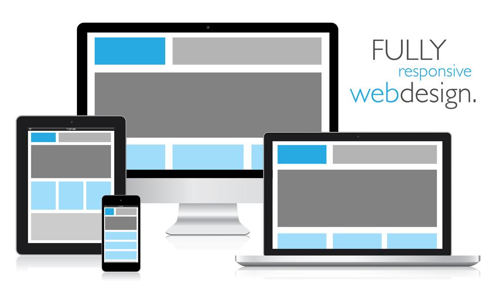 Responsive Web Design on Web Hosting packages