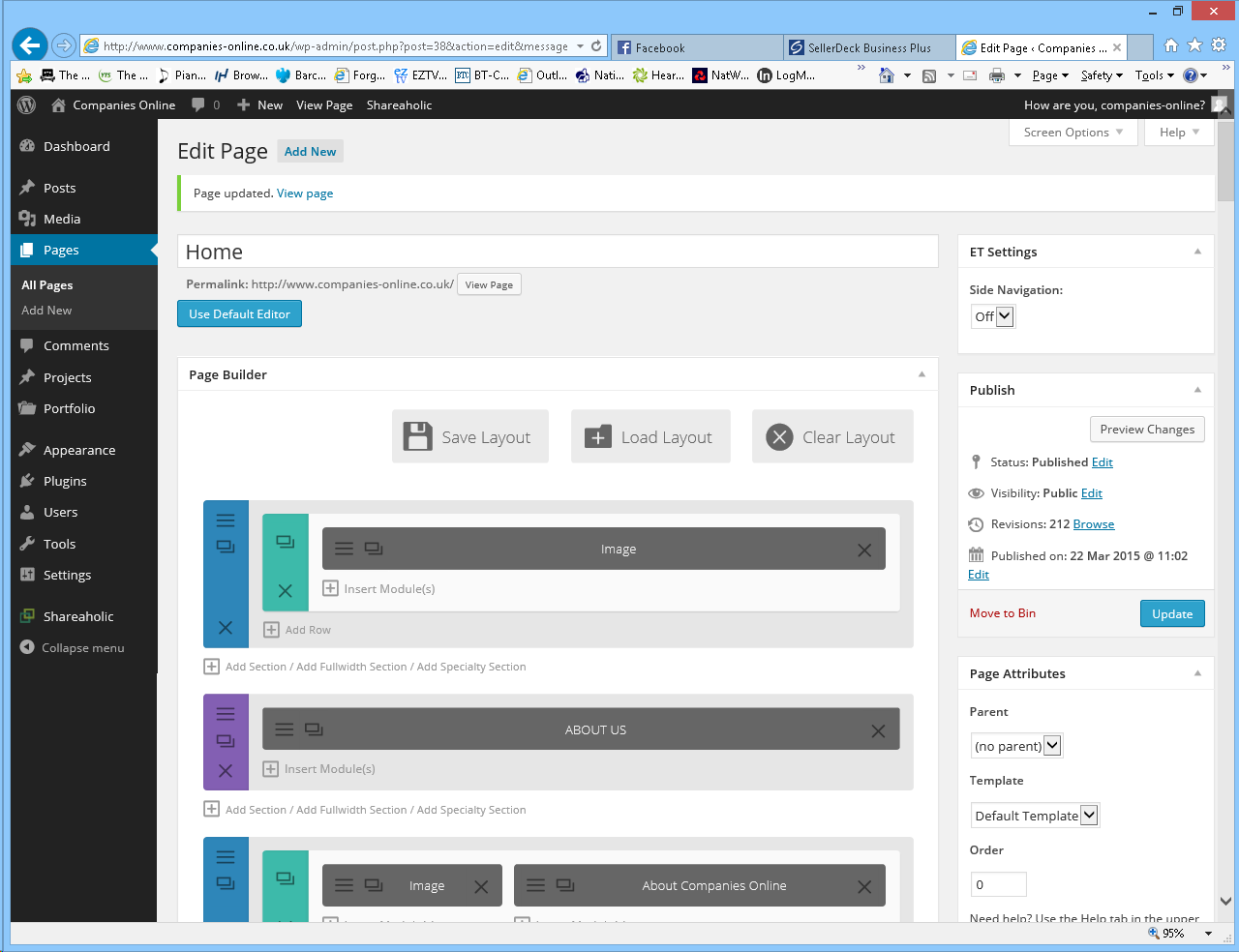 WordPress on Web Hosting packages